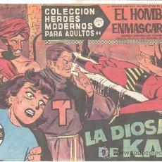 Tebeos: COLECCION HEROES MODERNOS PARA ADULTOS EL HOMBRE ENMASCARADO LA DIOSA DE KALI Nº61. Lote 12584978