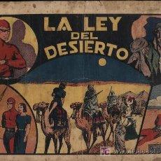 Tebeos: EL HOMBRE ENMASCARADO.EDIT.HISPANO AMERICANA. LA LEY DEL DESIERTO. Lote 21792098