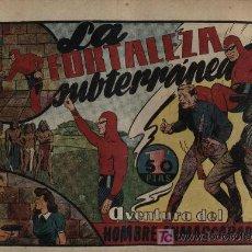 Tebeos: EL HOMBRE ENMASCARADO. ED. HISPANO AMERICANA. LA FORTALEZA SUBTERRÁNEA. Lote 21777099