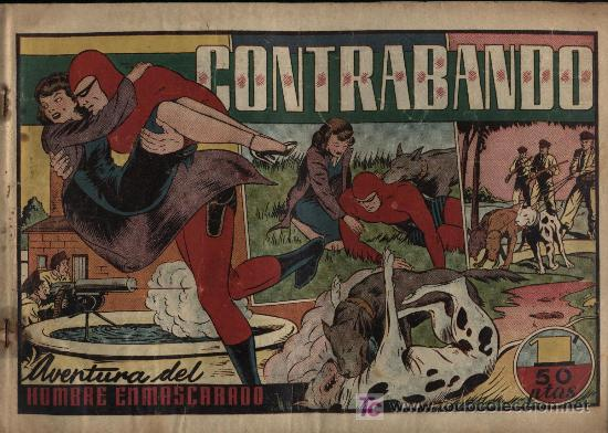 EL HOMBRE ENMASCARADO.EDIT.HISPANO AMERICANA. CONTRABANDO (Tebeos y Comics - Hispano Americana - Hombre Enmascarado)