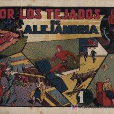 Tebeos: EL HOMBRE ENMASCARADO. ED. HISPANO AMERICANA. POR LOS TEJADOS DE ALEJANDRÍA. Lote 21792107