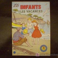 Tebeos: ELS INFANTS I LES VACANCES. NUM. 4. Lote 23897392