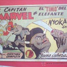 Tebeos: EL CAPITAN MARVEL N. 58 -HISPANO AMERICANA -ORIGINAL. Lote 24270971