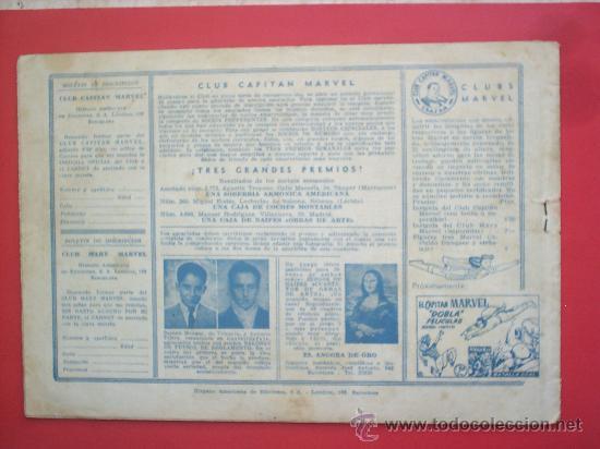 Tebeos: EL CAPITAN MARVEL N. 58 -HISPANO AMERICANA -ORIGINAL - Foto 2 - 24270971