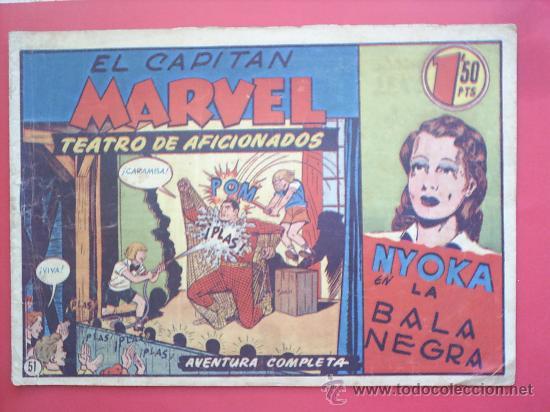 EL CAPITAN MARVEL N.51 -HISPANO AMERICANA -ORIGINAL (Tebeos y Comics - Hispano Americana - Capitán Marvel)