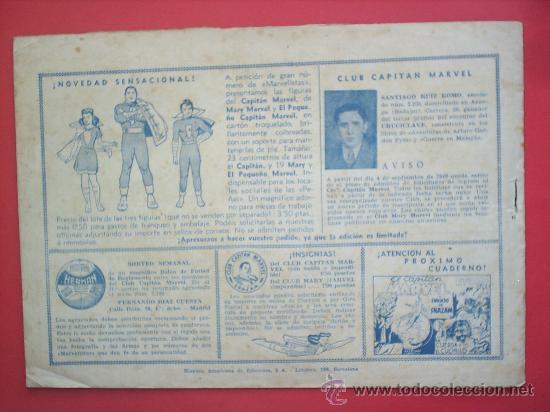 Tebeos: EL CAPITAN MARVEL N.51 -HISPANO AMERICANA -ORIGINAL - Foto 2 - 27369137
