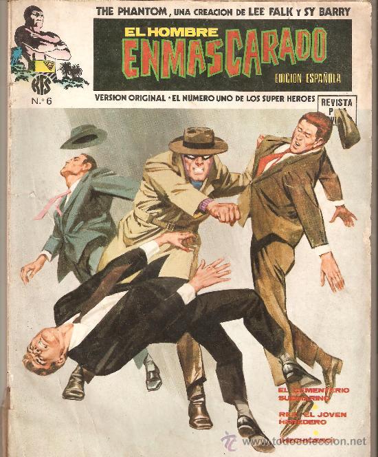 EL HOMBRE ENMASCARADO, EDICION ESPAÑOLA Nº 6 AÑO 1974 (Tebeos y Comics - Hispano Americana - Hombre Enmascarado)