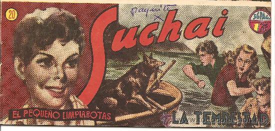 SUCHAI EL PEQUEÑO LIMPIABOTAS Nº 20 (Tebeos y Comics - Hispano Americana - Suchai)