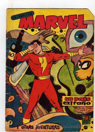EL CAPITAN MARVEL. UN PAIS EXTRAÑO. Y OTRAS AVENTURAS. Nº7. HISPANO AMERICANA DE ED. 1960 (Tebeos y Comics - Hispano Americana - Capitán Marvel)