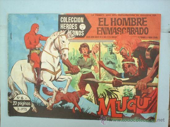 COLECCION HEROES MODERNOS SERIE AEL HOMBRE ENMASCARADO,N.6 (Tebeos y Comics - Hispano Americana - Hombre Enmascarado)
