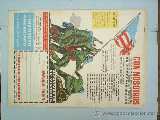 Tebeos: COLECCION HEROES MODERNOS SERIE AEL HOMBRE ENMASCARADO,N.6 - Foto 2 - 24591058