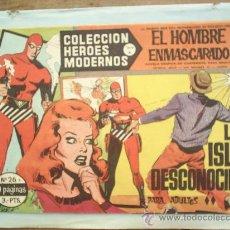 Tebeos: COLECCION HEROES MODERNOS,SERIE A ,EL HOMBRE ENMASCARADO N. 26. Lote 25356837