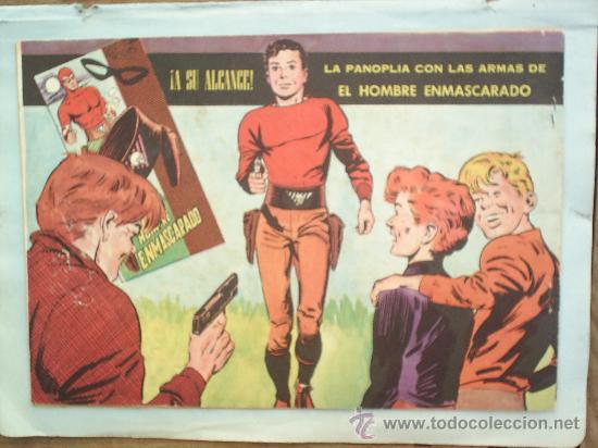Tebeos: coleccion heroes modernos,serie a ,el hombre enmascarado n. 26 - Foto 2 - 25356837