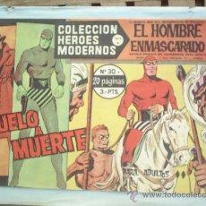 Tebeos: COLECCION HEROES MODERNOS ,SERIE A EL HOMBRE ENMASCARADO N.30. Lote 14207535