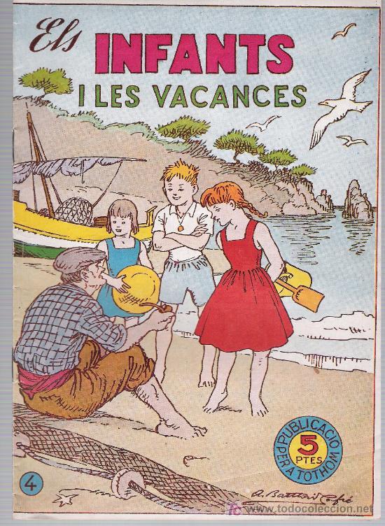 ELS INFANTS HISPANO AMERICANA 1957. Nº 4 (Tebeos y Comics - Hispano Americana - Otros)