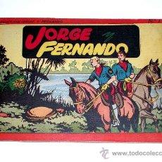 Tebeos: JORGE Y FERNANDO ALBUM Nº 1 ED. HISPANO AMERICANA BARCELONA, TAPA DURA, ORIGINAL 1944. EXCELENTE.. Lote 27070142