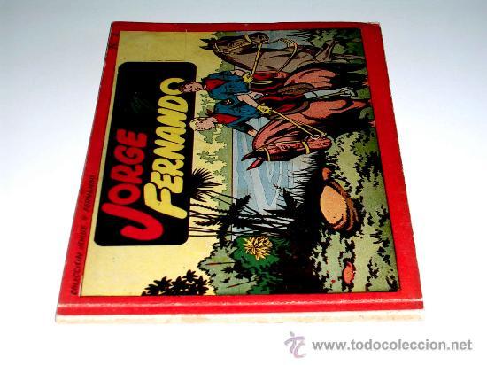 Tebeos: Jorge y Fernando Album nº 1 Ed. Hispano Americana Barcelona, tapa dura, original 1944. Excelente. - Foto 2 - 27070142