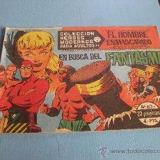 Tebeos: EL HOMBRE ENMASCARADO Nº 63 SERIE A. Lote 14679186