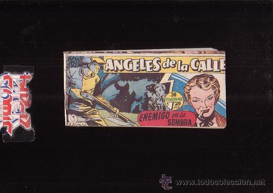 Tebeos: ANGELES DE LA CALLE Nº 11 - edita : HISPANO AMERICANA AÑOS 50 - Foto 2 - 15100821