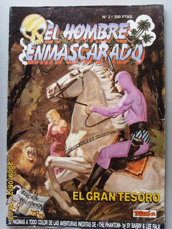 EL HOMBRE ENMASCARADO (Tebeos y Comics - Hispano Americana - Hombre Enmascarado)