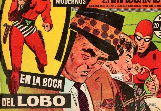 HEROES MODERNOS SERIE A HOMBRE ENMASCARADO Nº 12 (Tebeos y Comics - Hispano Americana - Hombre Enmascarado)