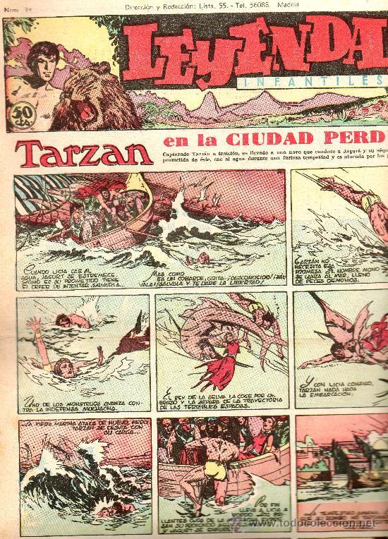 LEYENDAS INFANTILES HISPANO AMERICANA AÑOS 40 Nº 94 (Tebeos y Comics - Hispano Americana - Leyendas Infantiles)