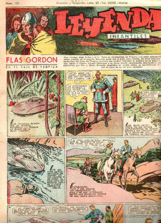 LEYENDAS INFANTILES HISPANO AMERICANA AÑOS 40 Nº 127 (Tebeos y Comics - Hispano Americana - Leyendas Infantiles)