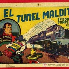 Tebeos: EL TUNEL MALDITO , EPISODIO COMPLETO, JUAN CENTELLA, COLECCION AUDAZ ,60 CENTIMOS, HISPANO AMERICANA. Lote 26499678