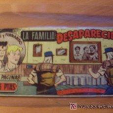 Tebeos: JORGE Y FERNANDO HISPANO AMERICANA 1949 ORIGINAL Nº 66. Lote 17029797