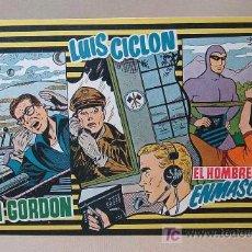 Tebeos: Nº 6, COMIC, EL HOMBRE ENMASCARADO, FLASH GORDON, LUIS CICLON, EDICIONES MAS, 1950S, EL FANTASMA. Lote 18860048