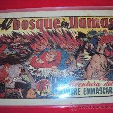 Tebeos: (COM-1904)COMIC EL HOMBRE ENMASCARADO-EL BOSQUE EN LLAMAS. Lote 17298075