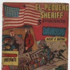 Tebeos: EL PEQUEÑO SHERIFF. TRIPLES. Nº 57. HISPANO AMERICANA.. Lote 17377837