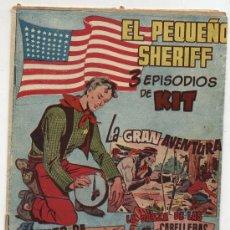 Tebeos: EL PEQUEÑO SHERIFF. TRIPLES. Nº 25. HISPANO AMERICANA.. Lote 17377939