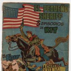Tebeos: EL PEQUEÑO SHERIFF. TRIPLES. Nº 19. HISPANO AMERICANA.. Lote 17378591