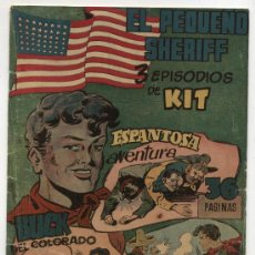 Tebeos: EL PEQUEÑO SHERIFF. TRIPLES. Nº 20. HISPANO AMERICANA.. Lote 17378647