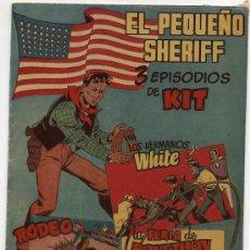 Tebeos: EL PEQUEÑO SHERIFF. TRIPLES. Nº 23. HISPANO AMERICANA.. Lote 17378859