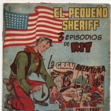 Tebeos: EL PEQUEÑO SHERIFF. TRIPLES. Nº 25. HISPANO AMERICANA.. Lote 17382210
