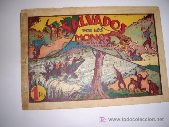 JORGE Y FERNANDO Nº 6 HISPAÑOAMERICANA ORIGINAL (Tebeos y Comics - Hispano Americana - Jorge y Fernando)