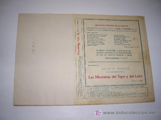 Tebeos: JORGE Y FERNANDO Nº 18 HISPAÑOAMERICANA ORIGINAL - Foto 2 - 26470412