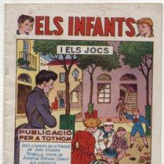 Tebeos: EL INFANTS Nº 5. I ELS JOCS. HISPANO AMERICANA.. Lote 17683802