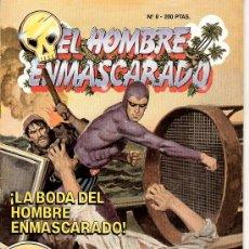 Tebeos: EL HOMBRE ENMASCARADO Nº 8. LA BODA DEL HOMBRE ENMASCARADO. Lote 17995552