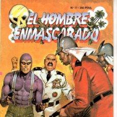 Tebeos: EL HOMBRE ENMASCARADO Nº 17. SENTENCIADO A MORIR. Lote 17995640