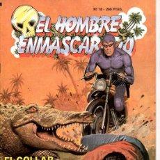 Tebeos: EL HOMBRE ENMASCARADO Nº 18. EL COLLAR DE LOS WAMBESI. Lote 17995644