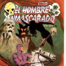 Tebeos: EL HOMBRE ENMASCARADO Nº 25. EN LA BOCA DEL LOBO. Lote 17995692