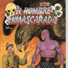 Tebeos: EL HOMBRE ENMASCARADO Nº 29. RHUA, TIERRA DE MONSTRUO. Lote 17995705