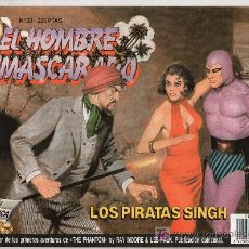 Tebeos: EL HOMBRE ENMASCARADO Nº 33. LOS PIRATAS SINGH. Lote 17995736