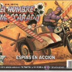 Tebeos: EL HOMBRE ENMASCARADO Nº 46. ESPIAS EN ACCION. Lote 17995802