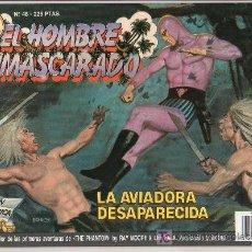 Tebeos: EL HOMBRE ENMASCARADO Nº 48. LA AVIADORA DESAPARECIDA. Lote 17995817