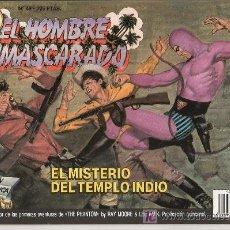 Tebeos: EL HOMBRE ENMASCARADO Nº 49. EL MISTERIO DEL TEMPLO INDIO. Lote 17995821