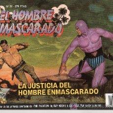 Tebeos: EL HOMBRE ENMASCARADO Nº 50. LA JUSTICIA DEL HOMBRE ENMASCARADO. Lote 17995825